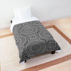 Monochrome Pattern 003 Comforter