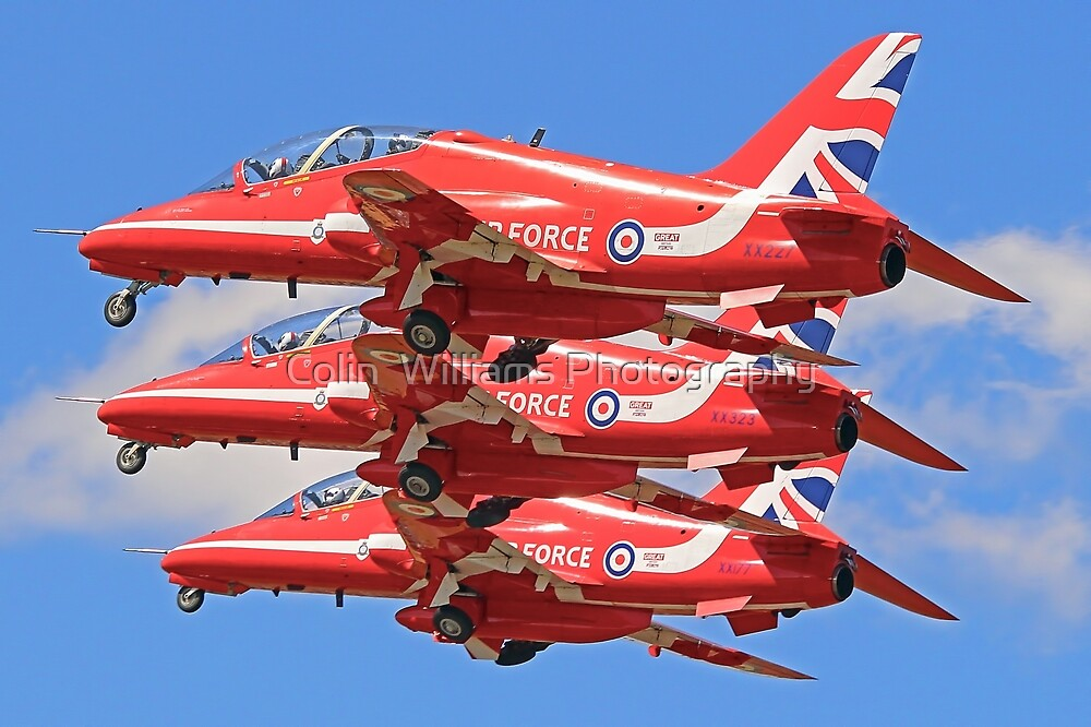 The Red Arrows Take of at RIAT 2015 by Colin  Williams Photography