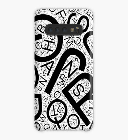 Random Letters - Created with Processing Case/Skin for Samsung Galaxy