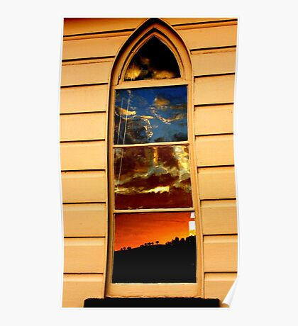 Church Reflections Poster
