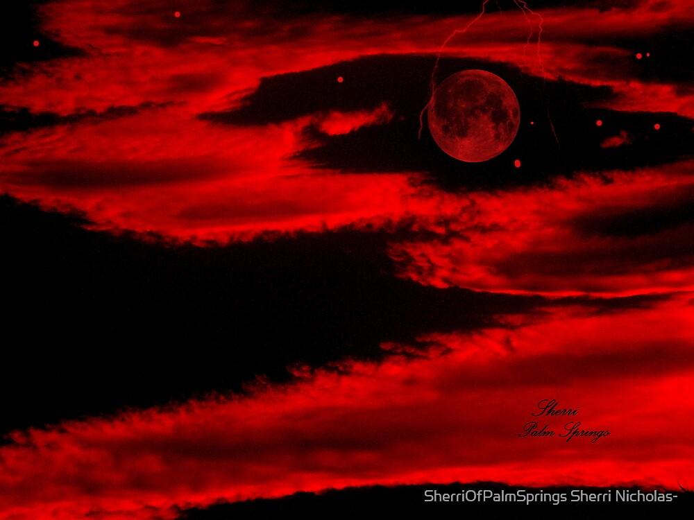 PLANET IN FURY!!!  ENIGMA!! by Sherri Palm Springs  Nicholas