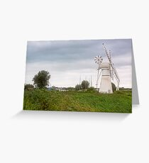 Thurne Windmill Greeting Card