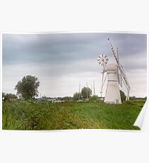 Thurne Windmill Poster