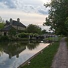 Semington Lock and House More Detail (opposite Direction) by davesphotographics
