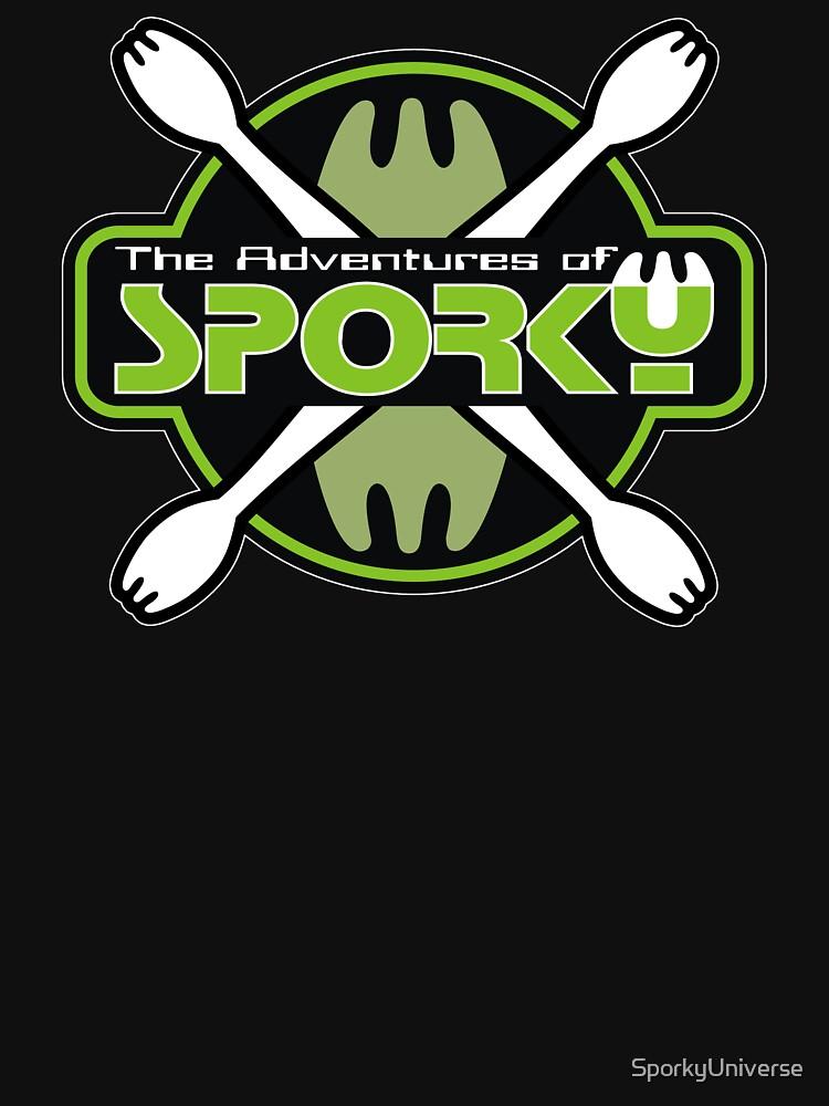The Adventures of Sporky Logo by SporkyUniverse