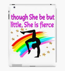 TERRIFIC GYMNASTICS GIRL DESIGN iPad Case/Skin