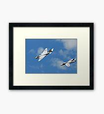 Cold War Jets Framed Print