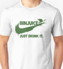 Bin Juice Just Drink It Slim Fit T-Shirt