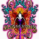 Slendermom New Female Horror Supernatural Woman Funny Mom Creature by NationalCryptid
