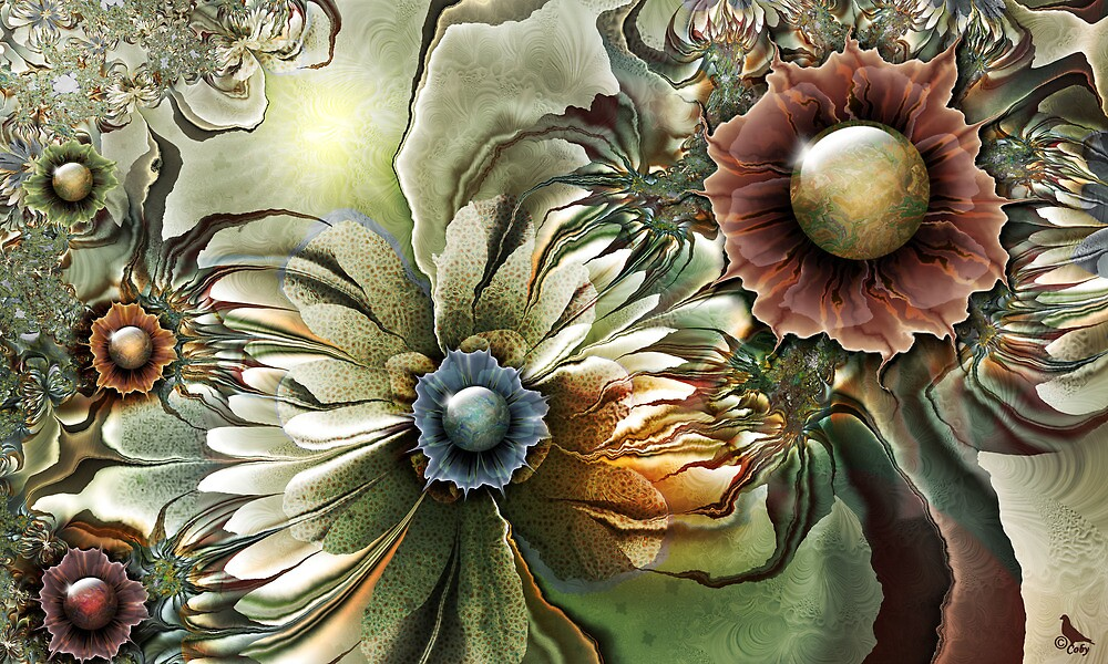 Renaissance Flowers by coby01