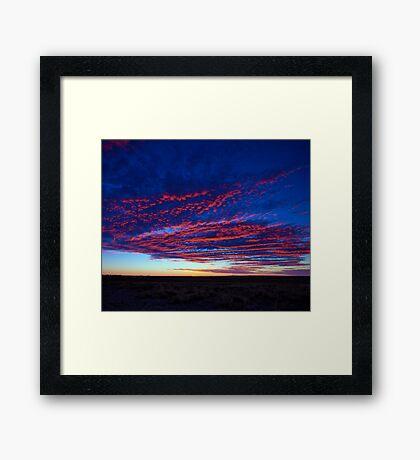 Outback Sunrise 1 Framed Print