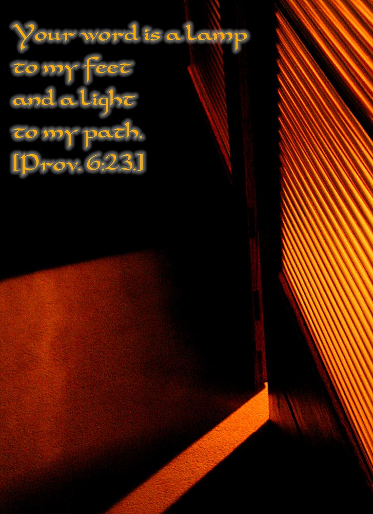 His word is a lamp by Mark Malinowski