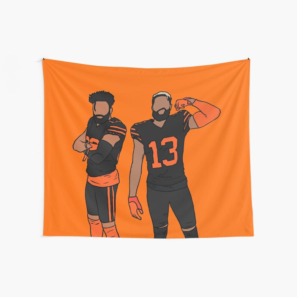 Juice x OBJ (Blaze Orange) Wall Tapestry