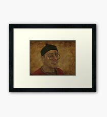 To see or not to see Framed Print