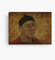 To see or not to see Canvas Print
