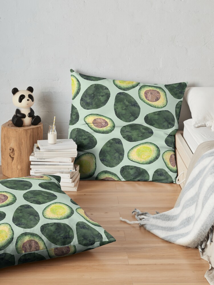 Alternate view of Avocado Addict Floor Pillow