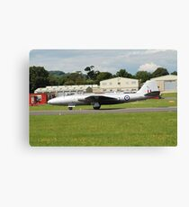 Canberra bomber jet Canvas Print