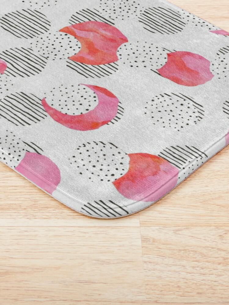 Alternate view of Flamingo Pink Bath Mat