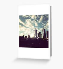 southbank melbourne Greeting Card