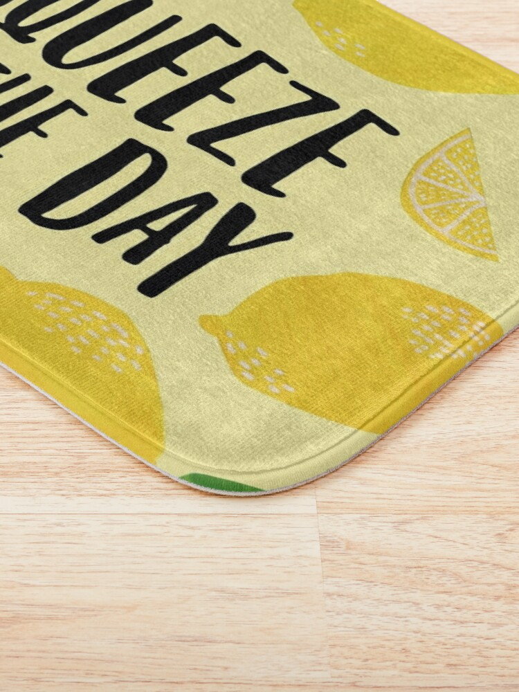 Alternate view of Squeeze the Day Bath Mat