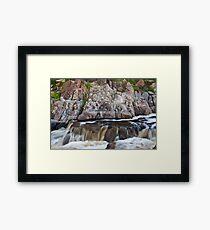 Mannum Falls Framed Print