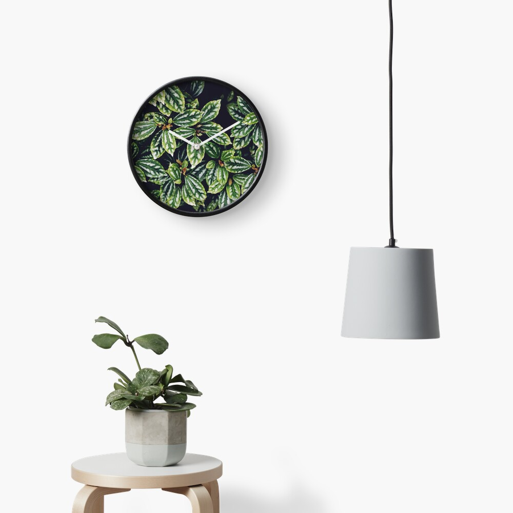 Tropical vibes Clock