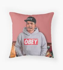 OBEY STALIN Throw Pillow