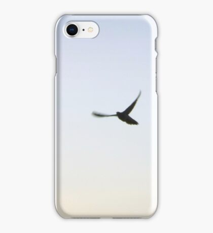 If the sun goes down I shall fly to the moon iPhone Case/Skin