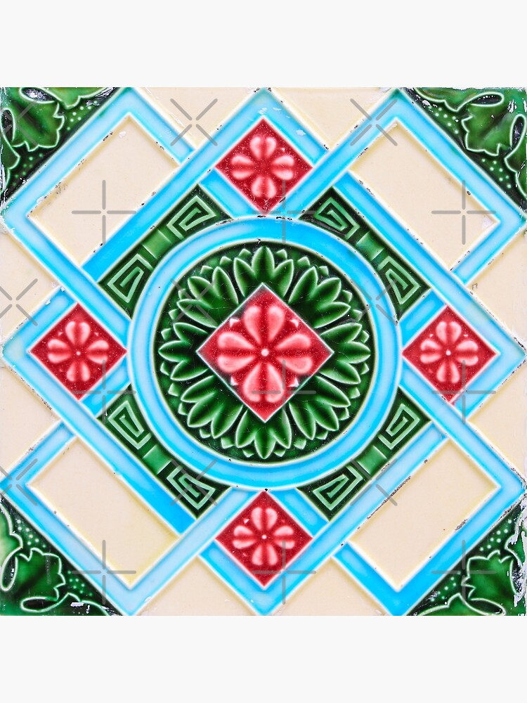 Peranakan Floral Tile by ernstc