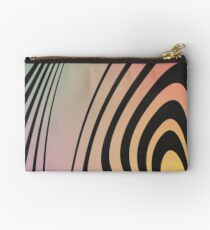 Abstract Gradient No. 4 Zipper Pouch