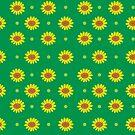 Summer time Sunflowers by Angela Sbandelli