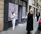 Paris Sidewalk by pmreed