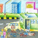 Road Accident in a City by tanmay