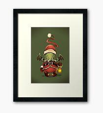 Happy Cthulhu Framed Print