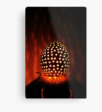 Egg Man Metal Print
