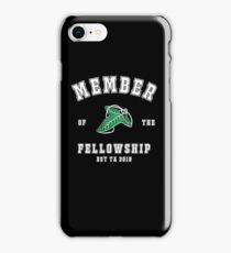 Fellowship (black tee) iPhone Case/Skin