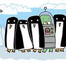 alien penguin by davepockett