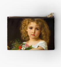 """Bolso de mano William-Adolphe Bouguereau """"Enfant tenant des fleurs"""""""