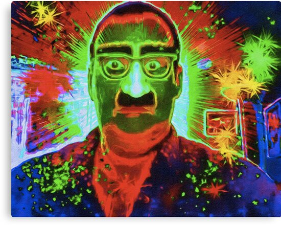 Magic Gag Glasses, Nose and Mustache by David Rozansky
