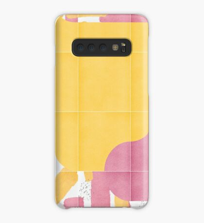 Bold Painted Tiles 03 #redbubble #midmod Case/Skin for Samsung Galaxy