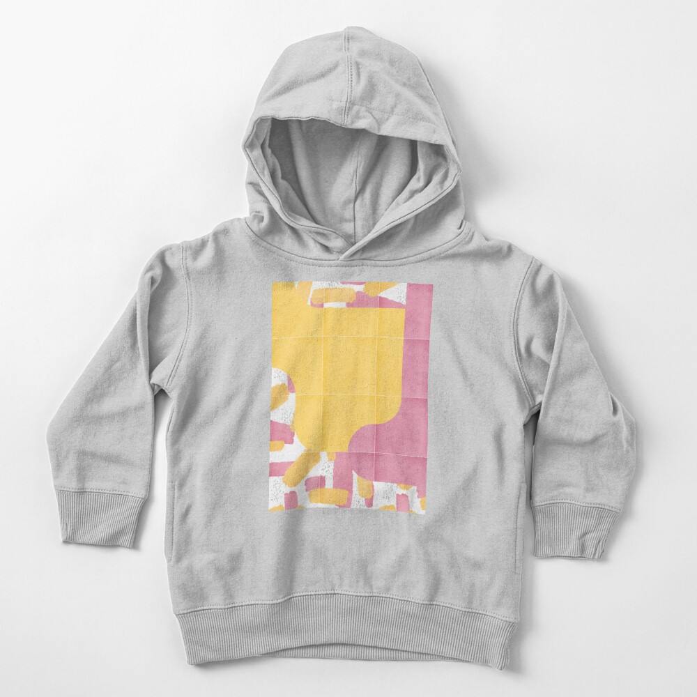 Bold Painted Tiles 03 #redbubble #midmod Toddler Pullover Hoodie