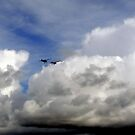 Sitting on a Cloud Watching the Action by HELUA