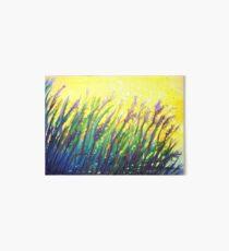 Button Grass Art Board Print