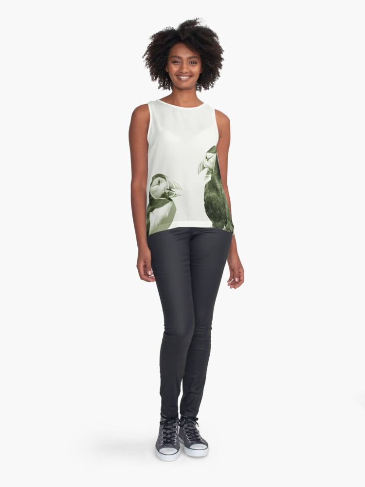 Alternate view of Monochrome - Conversations Sleeveless Top