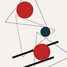 Abstrakte Geometrie #geometrisch #illustration #kunst von Creativeaxle