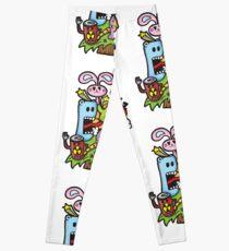 emotive doodle Leggings