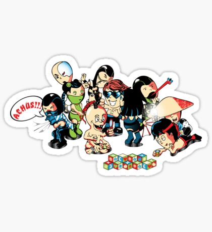 Babality Sticker