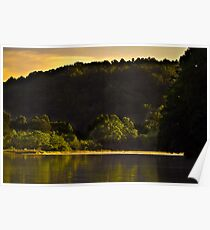 Day break at Lake Issaqueena  Poster