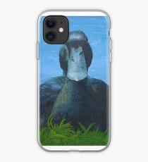 Broody Black East Indie iPhone Case