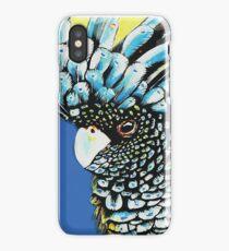Black Cuckatoo iPhone Case